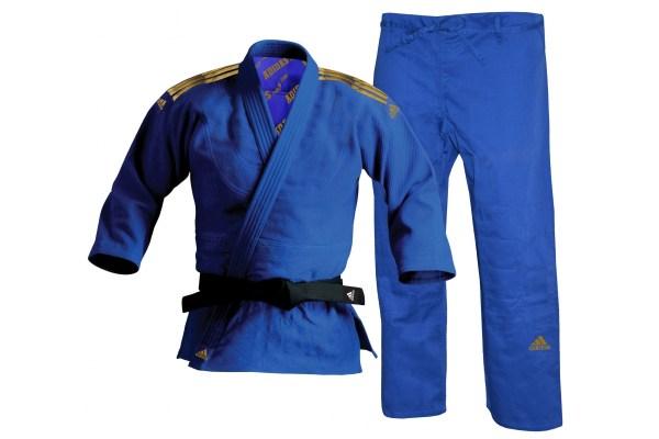 Judo Blue Adidas Millenium