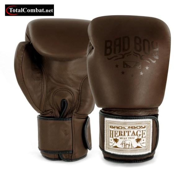 Bad Boy Muay Thai Heritage Natural Leather Boxing Gloves
