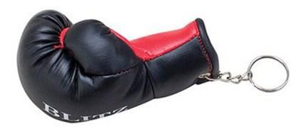 boxing glove key ring
