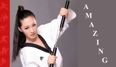 Crazy Nunchaku Girls