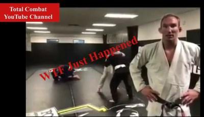 BJJ training gon wrong