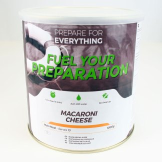Freeze Dried Tin Macaroni Cheese