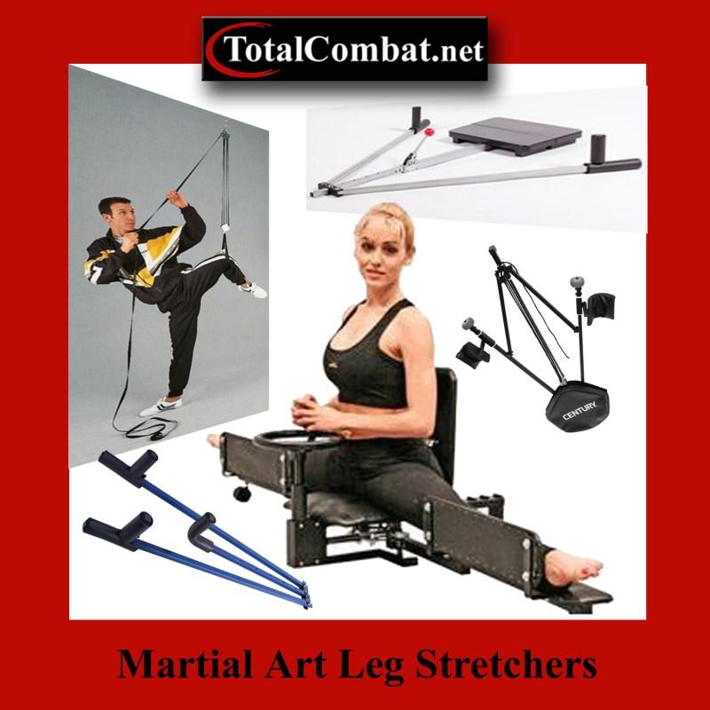 Martial art leg stretchers