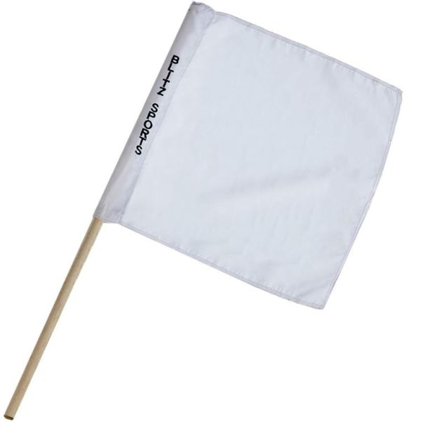 Referee Flag white