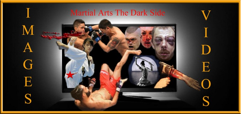 Martial arts the dark side