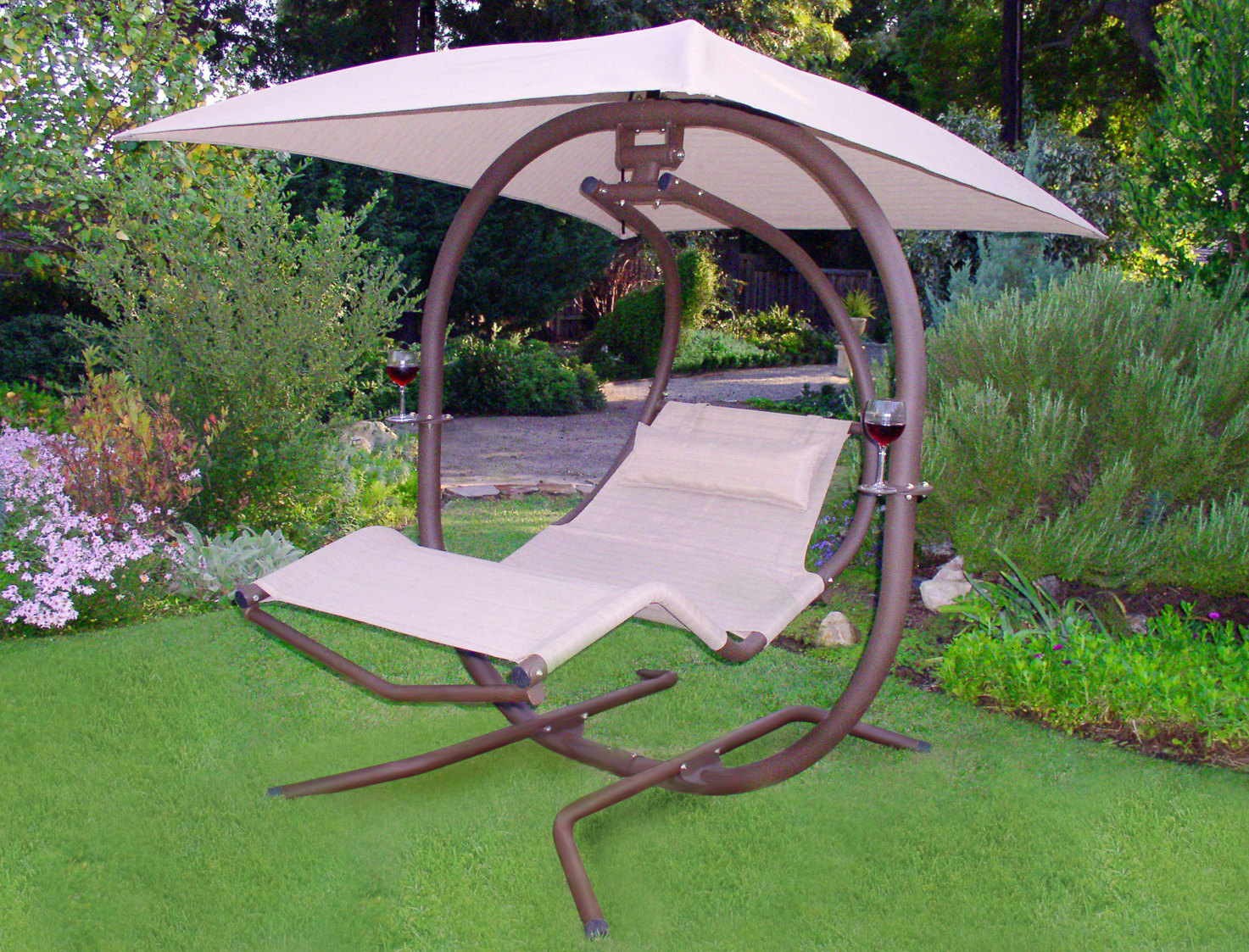 outdoor swing chair covers wood chairs sunset 421l special w free shipping