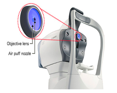 Canon Air Puff Tonometer and Glaucoma