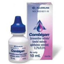Combigan and glaucoma