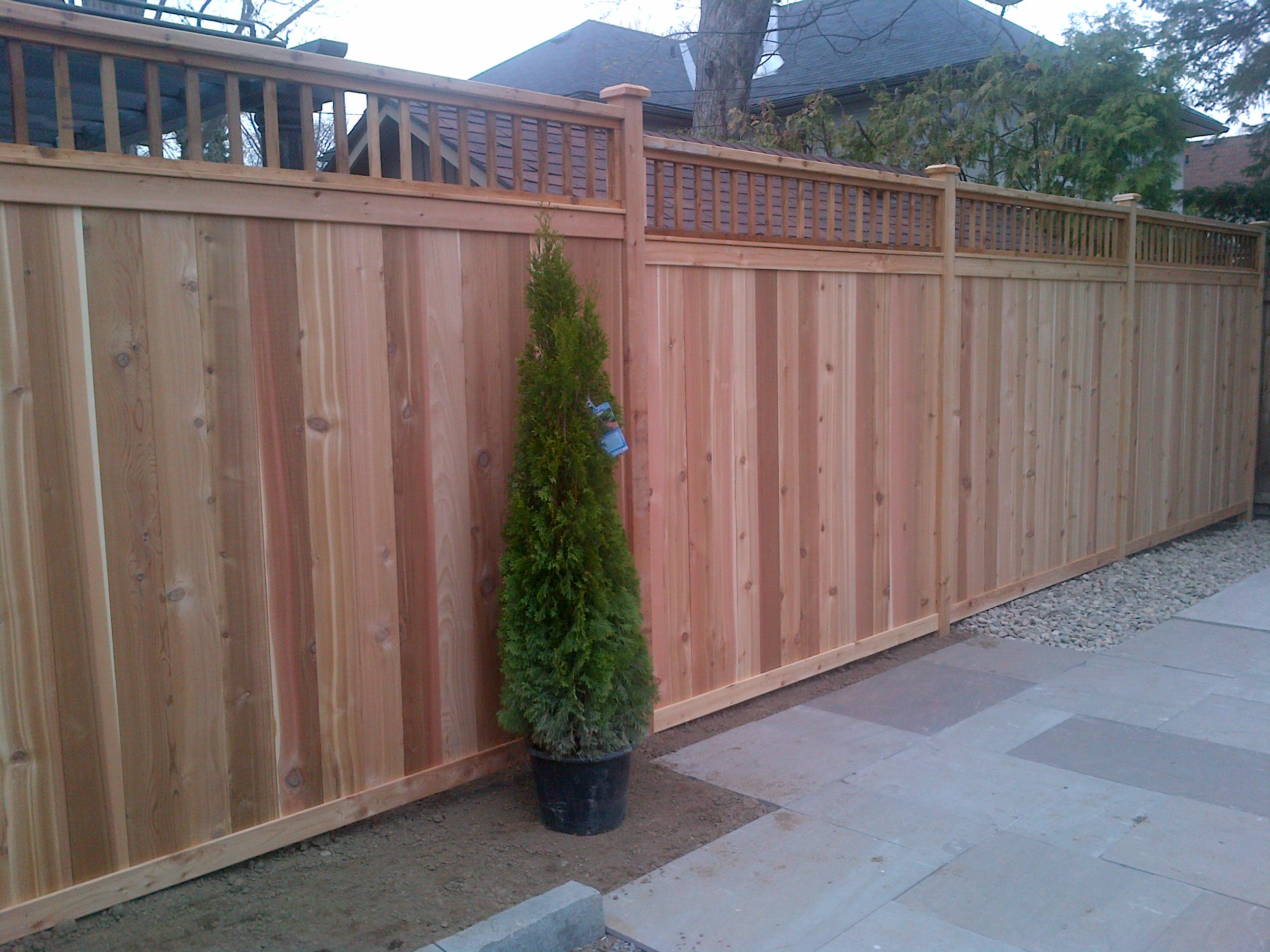 total fence quality wood