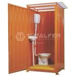 Container Banheiro Desmontável com Chuveiro