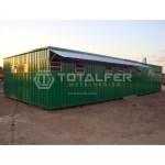 Container Escritório Externo com Banheiro