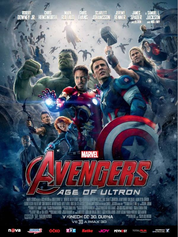 Avengers Age of Ultron plakat