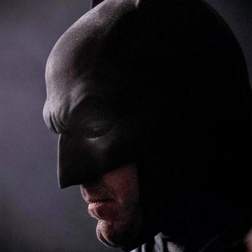 Ben Afleck v masce Batmana
