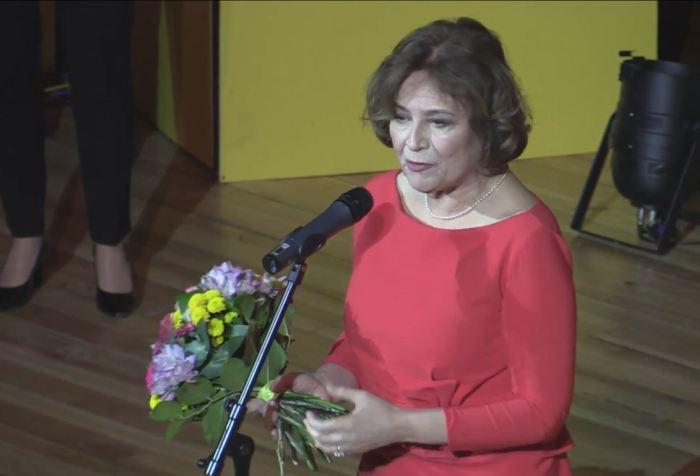 Emília Vášaryová na slavnostním zahájení Febiofestu