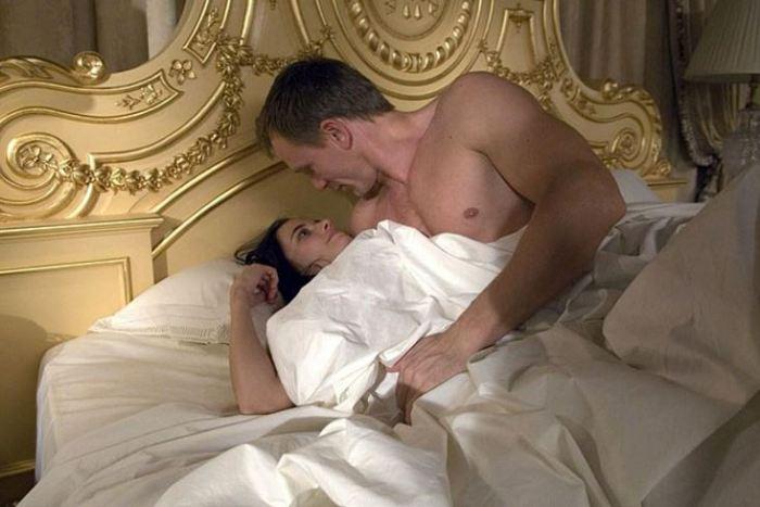 Eva Green a Daniel Craig ve filmu Casino Royale (2006)