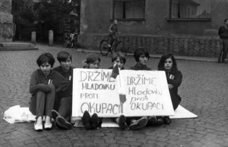 Hladovka proti okupaci