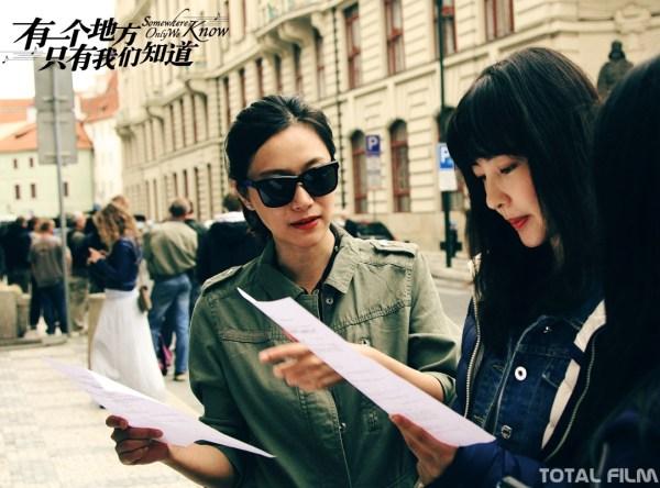Natáčení čínského filmu Jen my víme kde (Praha)