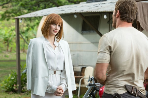 Jurský svět - Bryce Dallas Howard a Chris Pratt