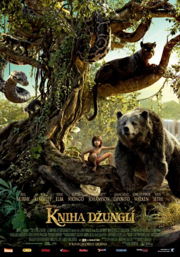 Kniha Džunglí-poster