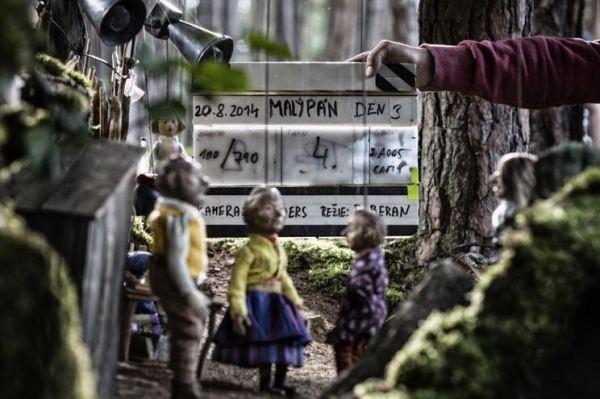 Malý pán - z natáčení