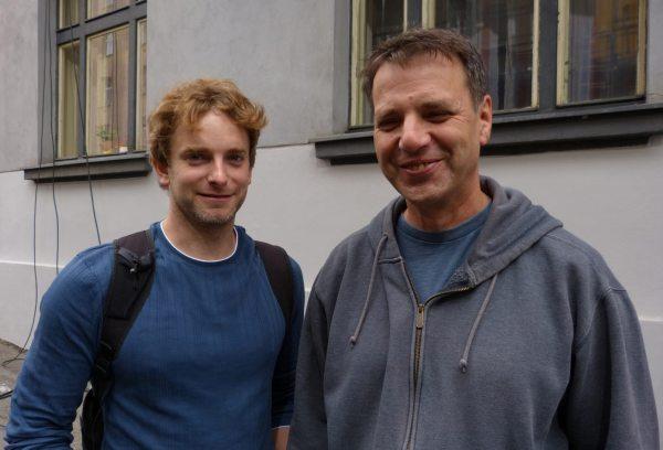 Marek Epstein a Vladimír Michálek