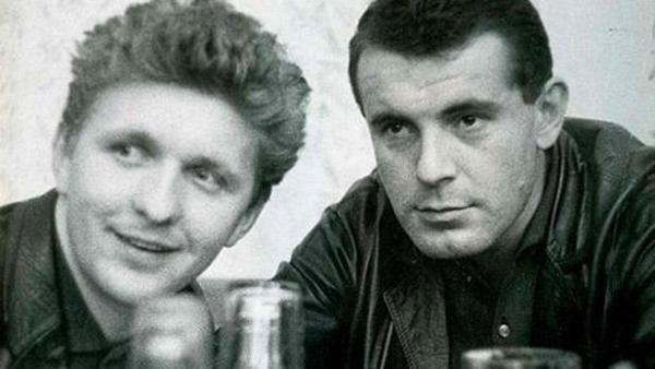 Miroslav Ondříček s Milošem Formanem v šedesátých letech