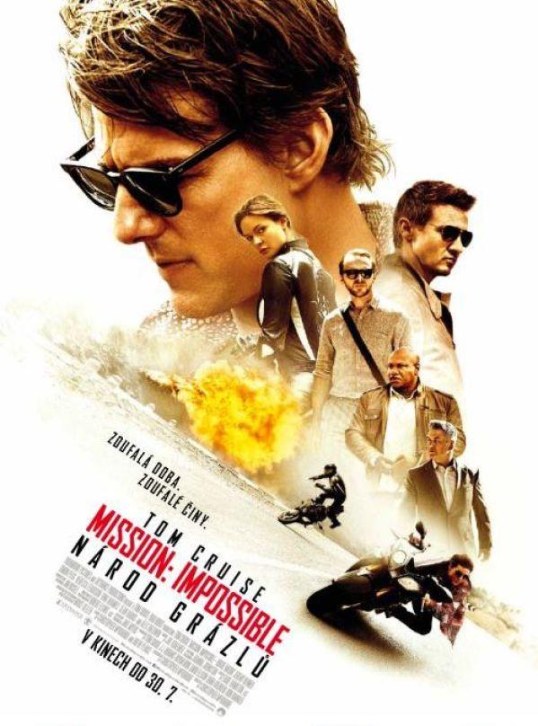 Mission Impossible Národ grázlů poster
