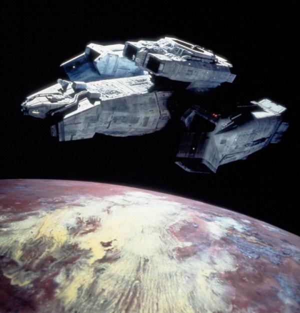 Loď Nostromo z filmu Vetřelec