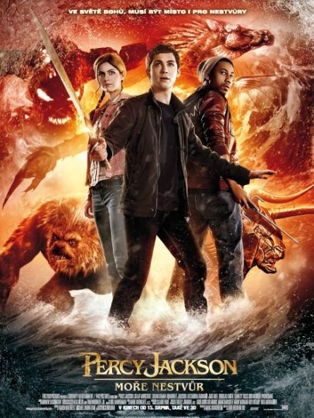 Percy Jackson more nestvur plakát