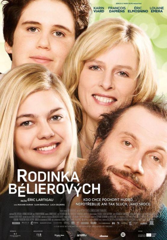 Rodinka Bélierových plakát CZ
