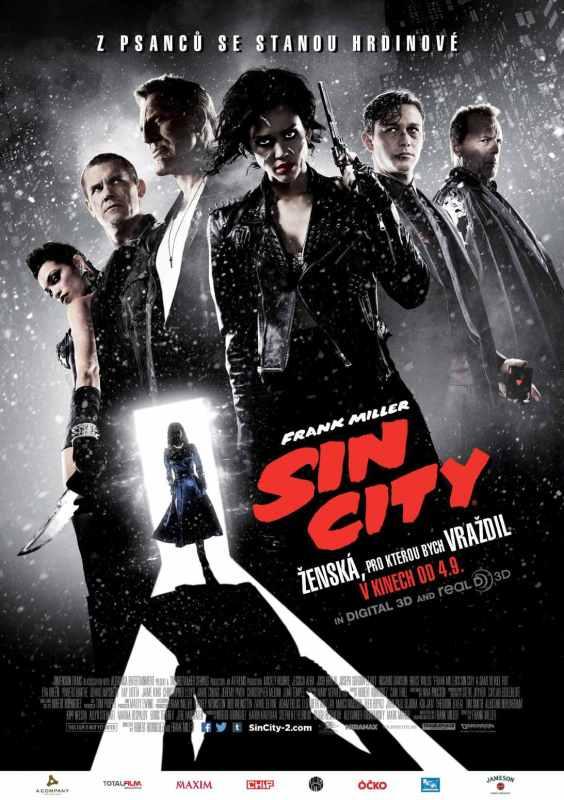 Sin City zenska pro kterou bych vrazdil plakat