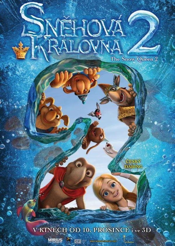 Sněhová královna cz poster