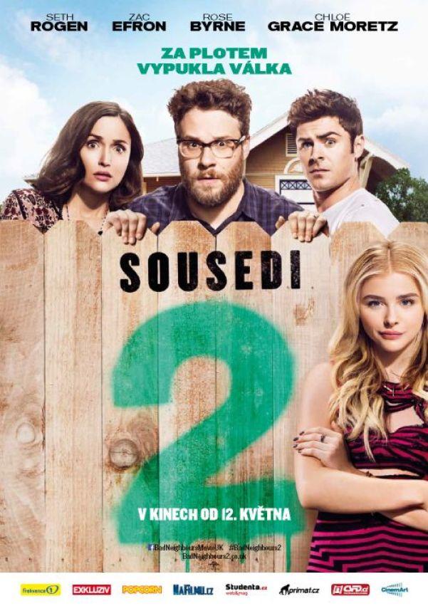 Sousedi 2 poster