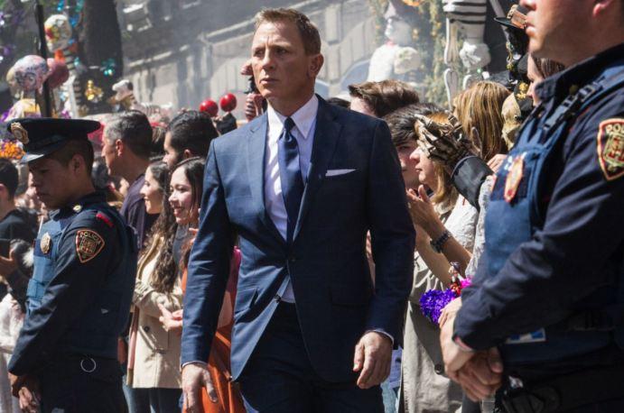 Daniel Craig ve filmu Spectre (foto: Forum Film)
