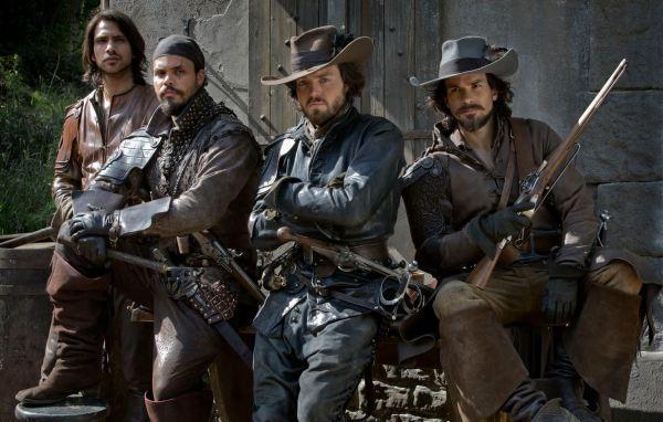 Tři mušketýři (foto: BBC)