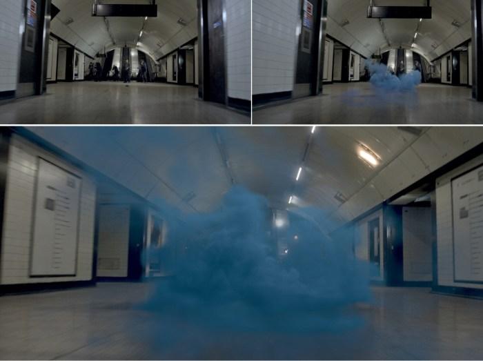 Výbuch v metru - Pád Londýna