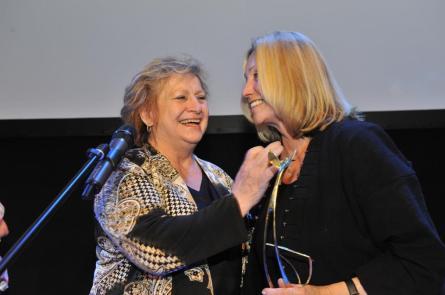 Věra Čáslavská s Olgou Sommerovou (foto: FP)