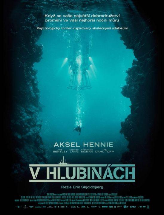 V Hlubinach_cz-poster