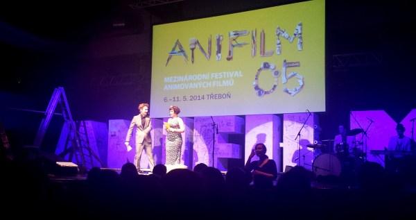 Závěrečný slavnostní večer Anifilmu (foto: totalfilm.cz)