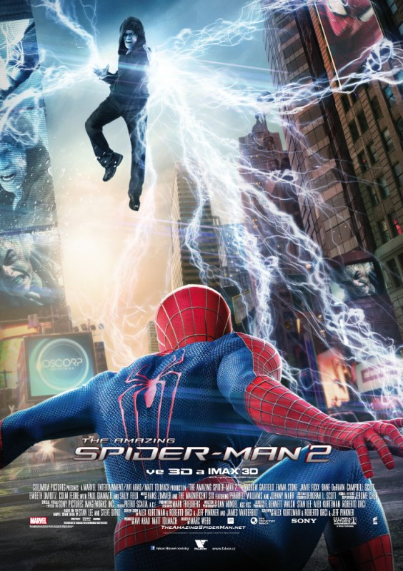 Amazing Spiderman 2 plakát