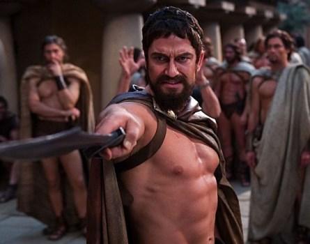 Gerard Butler jako Leonidas v 300: Bitva u Thermopyl (foto: archiv)