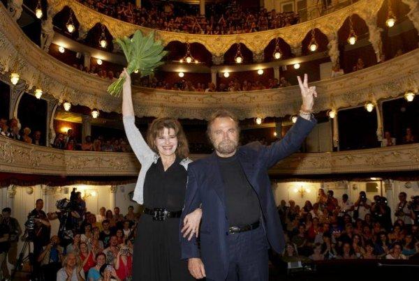 Fanny Ardant a Franco Nero uvádějí Naléhavé rytmy (foto: KVIFF)