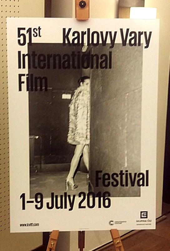 Jeden z plakátů letošního vizuálu MFF Karlovy Vary