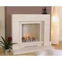 Newman Continental Limestone Fireplace