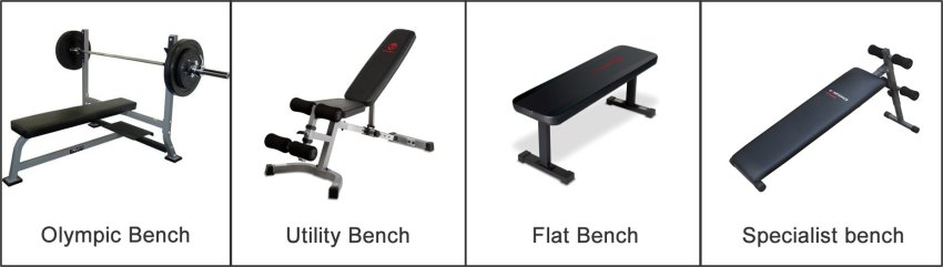 workout benches