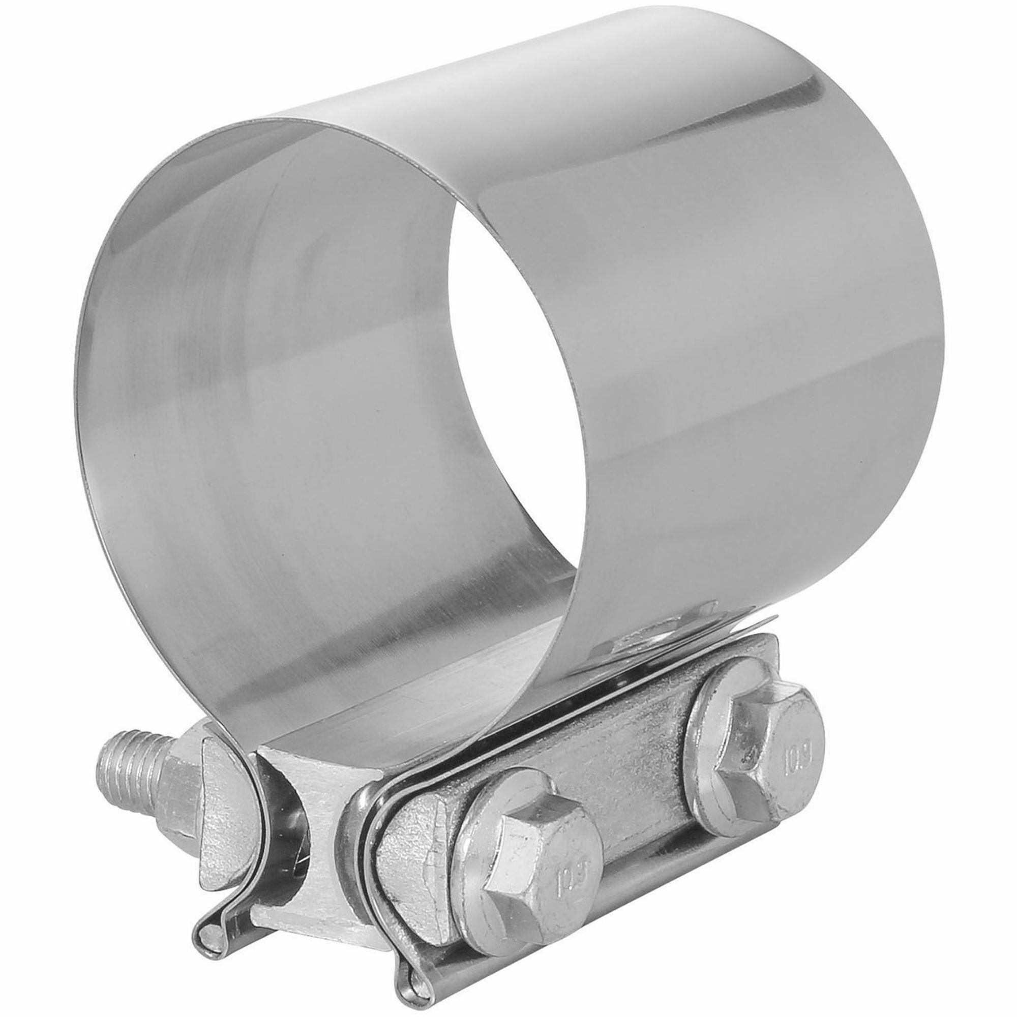 totalflow tf jb64 butt joint exhaust muffler clamp band 5 inch