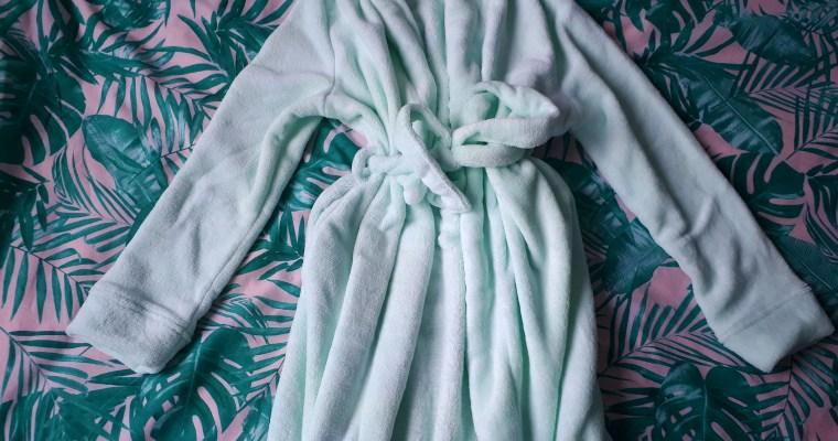 WIN: A dressing gown!