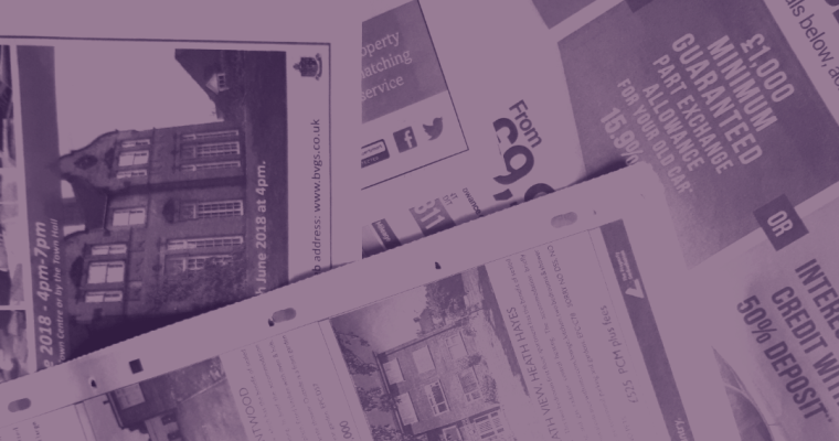 The demise of the local press