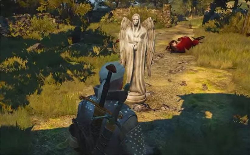 Witcher 3 Weeping Angels Easter Egg