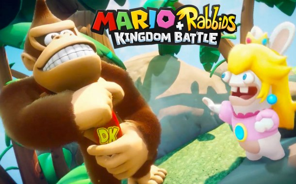 Donkey Kong is heading to Mario + Rabbids Kingdom Battle